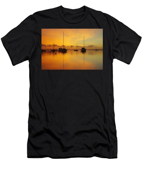 Golden Sunrise At Boreen Point Men's T-Shirt (Athletic Fit)