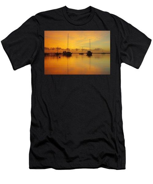 Golden Sunrise At Boreen Point Men's T-Shirt (Athletic Fit)