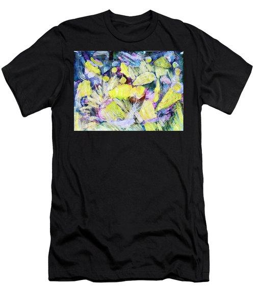 Golden Swirls Men's T-Shirt (Athletic Fit)