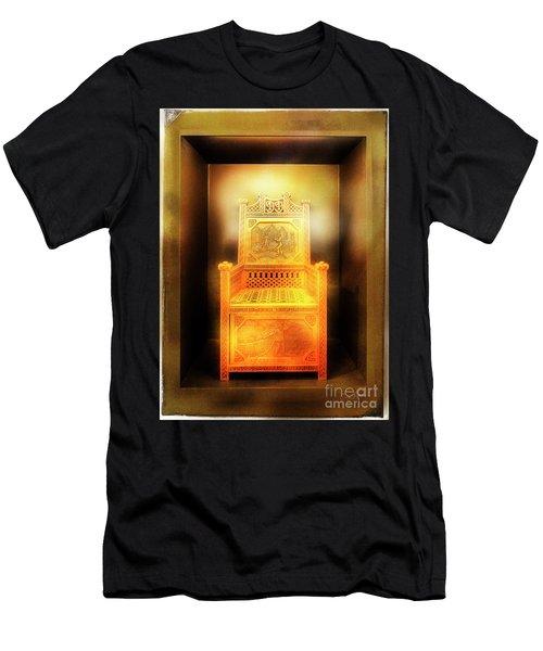 Golden Throne Men's T-Shirt (Athletic Fit)