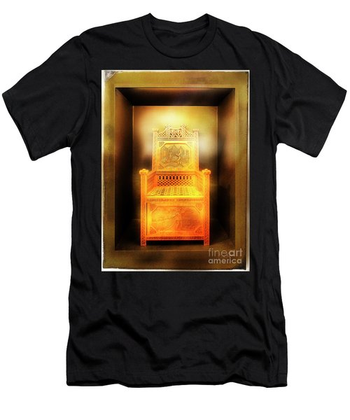 Golden Throne Men's T-Shirt (Athletic Fit)