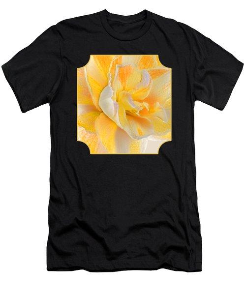 Golden Timeless Beauty Men's T-Shirt (Athletic Fit)