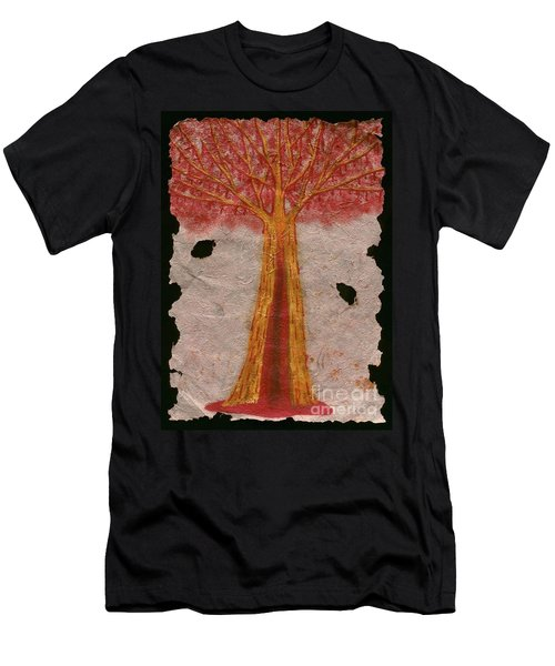 Golden Trees Crying Tears Of Blood Men's T-Shirt (Athletic Fit)