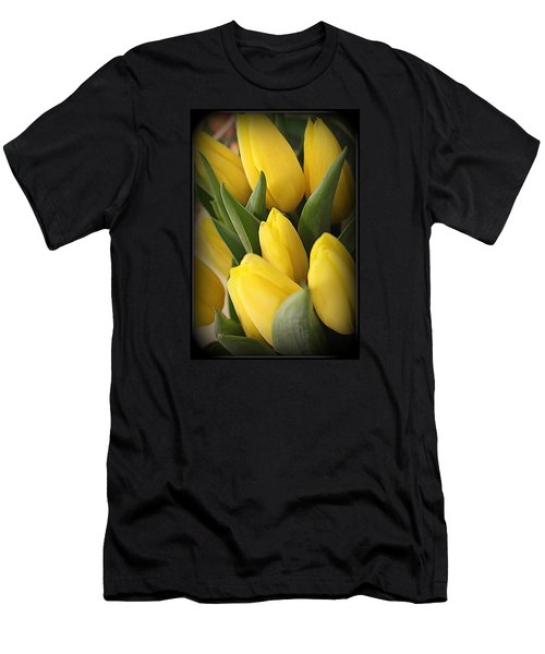 Golden Tulips Men's T-Shirt (Slim Fit)