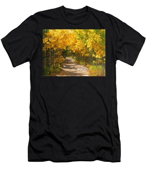 Golden Tunnel Men's T-Shirt (Athletic Fit)