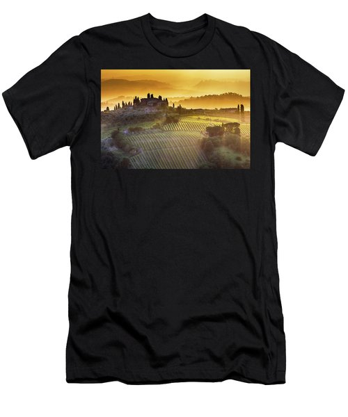 Golden Tuscany Men's T-Shirt (Athletic Fit)