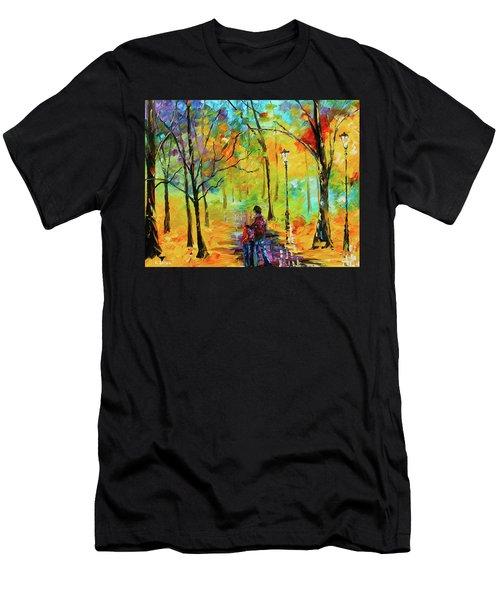 Golden Walk Men's T-Shirt (Athletic Fit)
