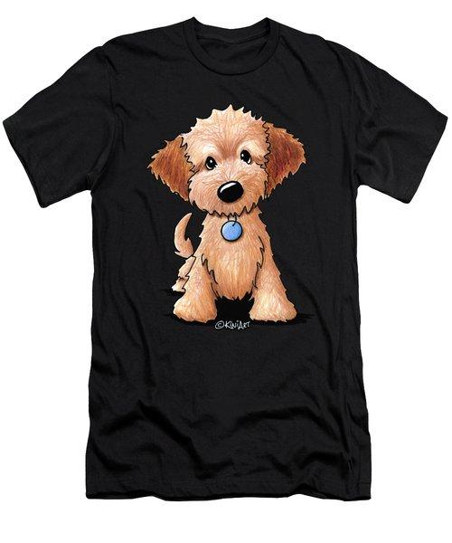 Goldendoodle Puppy Men's T-Shirt (Athletic Fit)
