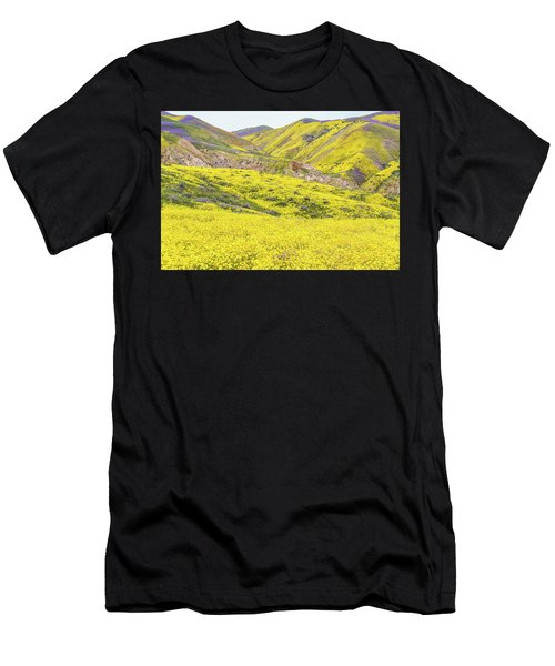Goldfields And Temblor Hills Men's T-Shirt (Athletic Fit)