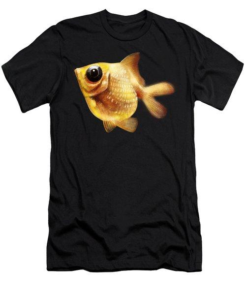 Goldfish Men's T-Shirt (Slim Fit) by Abdul Jamil