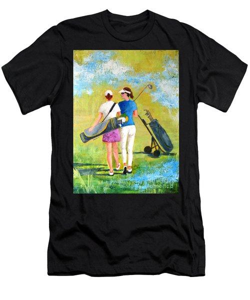 Golf Buddies #1 Men's T-Shirt (Athletic Fit)
