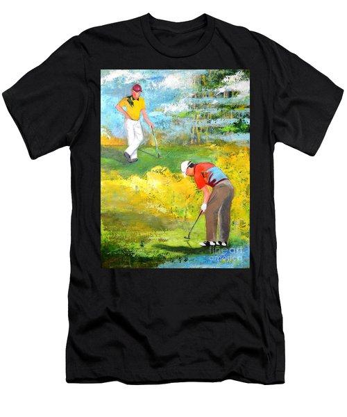 Golf Buddies #2 Men's T-Shirt (Athletic Fit)