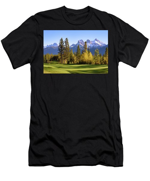 Silvertip Golf Course Men's T-Shirt (Athletic Fit)