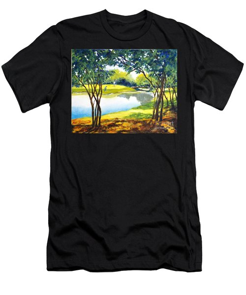 Golf Haven Men's T-Shirt (Athletic Fit)
