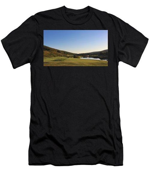 Golf - Natural Curves Men's T-Shirt (Athletic Fit)