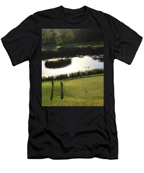 Golf - Puttering Around Men's T-Shirt (Athletic Fit)