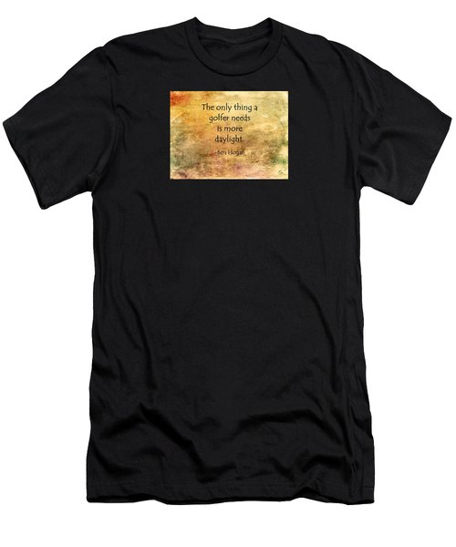 Golf Quote Men's T-Shirt (Athletic Fit)