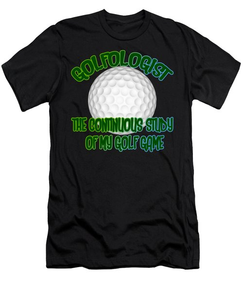 Golfologist Men's T-Shirt (Athletic Fit)