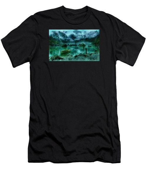 Gollum's Grotto Men's T-Shirt (Athletic Fit)