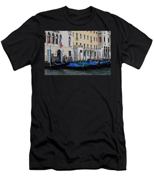 Gondolas At Rest Men's T-Shirt (Athletic Fit)