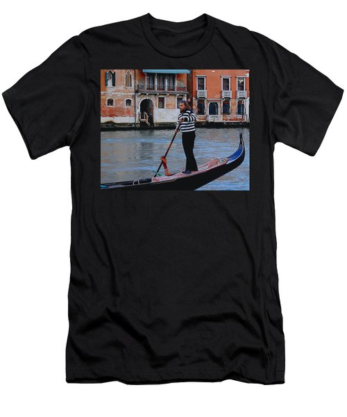 Gondolier Venice Men's T-Shirt (Athletic Fit)