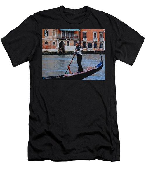 Gondolier Venice Men's T-Shirt (Athletic Fit)