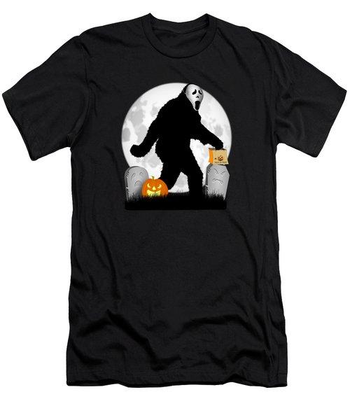 Gone Halloween Squatchin' Men's T-Shirt (Athletic Fit)