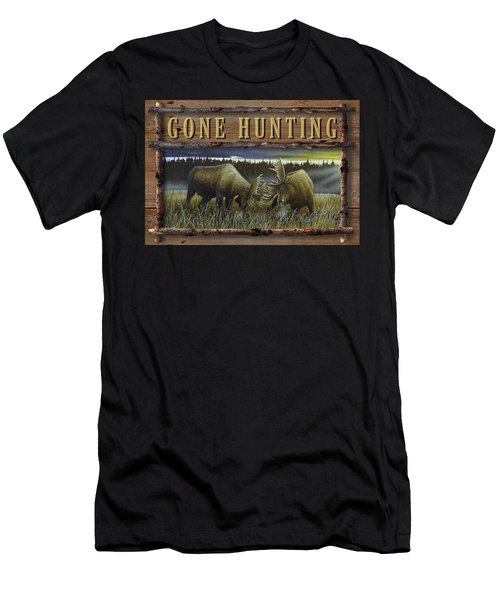 Gone Hunting - Locked At Lac Seul Men's T-Shirt (Athletic Fit)