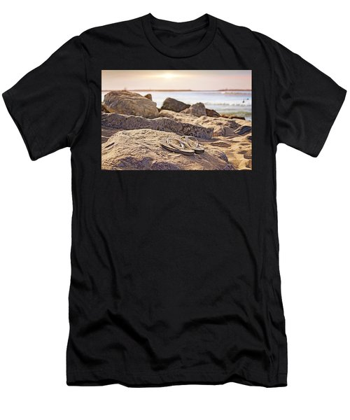 Gone Surfin' Men's T-Shirt (Athletic Fit)