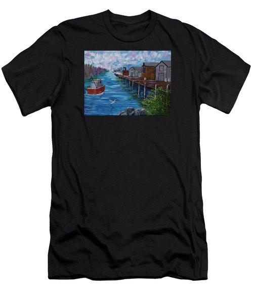 Good Day Fishing Men's T-Shirt (Athletic Fit)