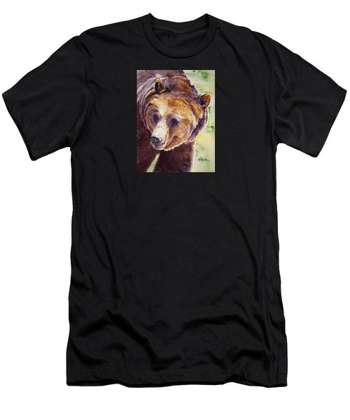 Good Day Sunshine - Grizzly Bear Men's T-Shirt (Athletic Fit)