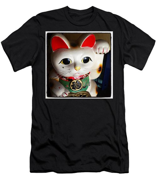 Men's T-Shirt (Athletic Fit) featuring the photograph Good Meowning. #myfab5 by Mr Photojimsf