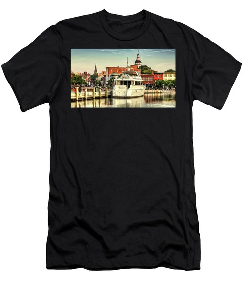 Good Morning Annapolis Men's T-Shirt (Athletic Fit)