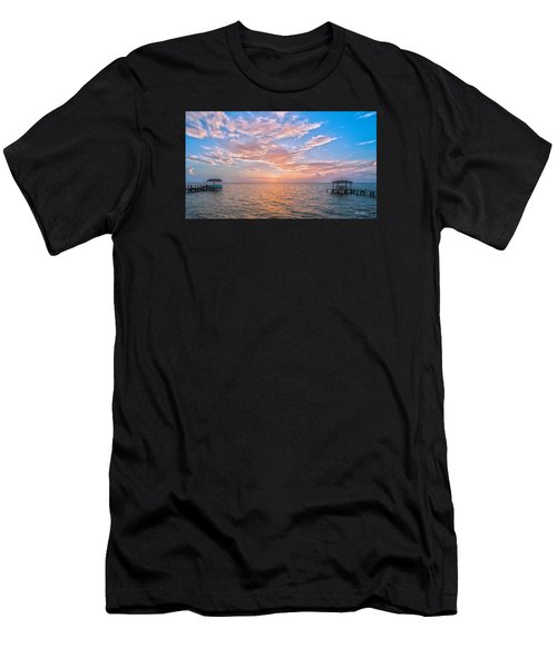 Good Morning Aransas Bay Men's T-Shirt (Athletic Fit)