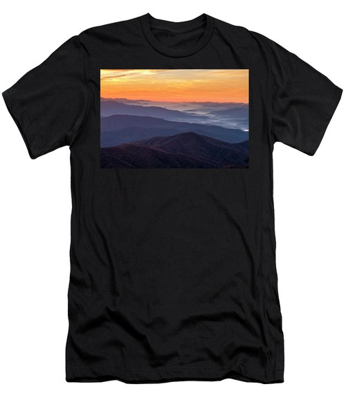 Good Morning Clingmans Dome In The Smokies Men's T-Shirt (Athletic Fit)