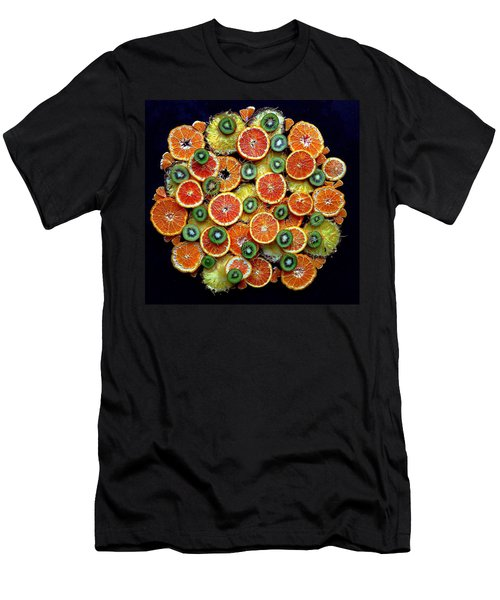 Good Morning Fruit Men's T-Shirt (Athletic Fit)