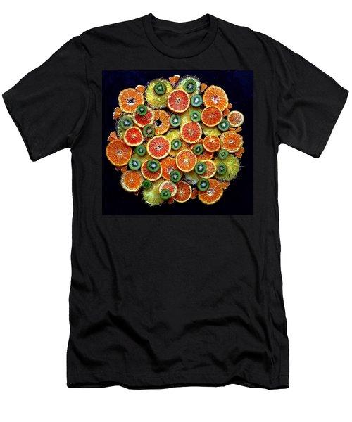 Good Morning Fruit Men's T-Shirt (Athletic Fit)