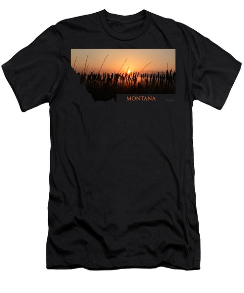 Good Morning Montana Men's T-Shirt (Athletic Fit)
