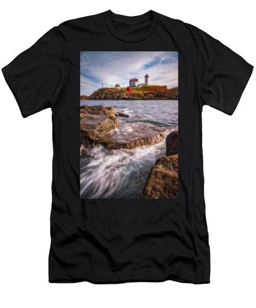 Good Morning Nubble Men's T-Shirt (Athletic Fit)