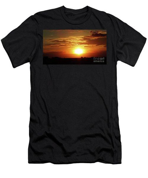 Good Morning Sun  Men's T-Shirt (Slim Fit) by J L Zarek