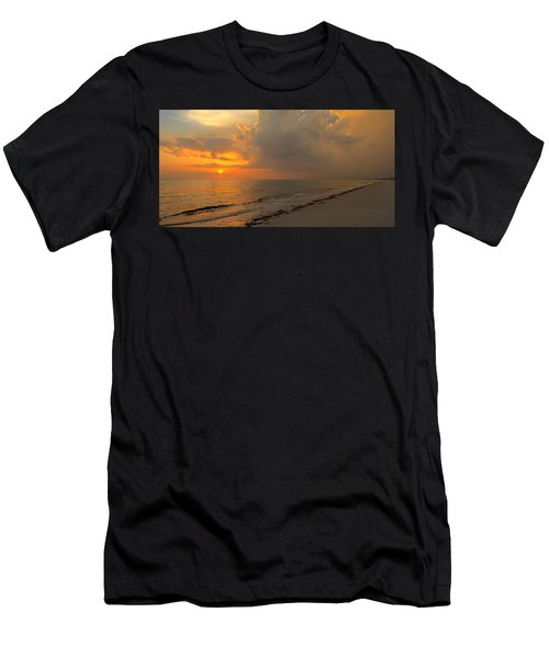 Good Night Sun Men's T-Shirt (Athletic Fit)