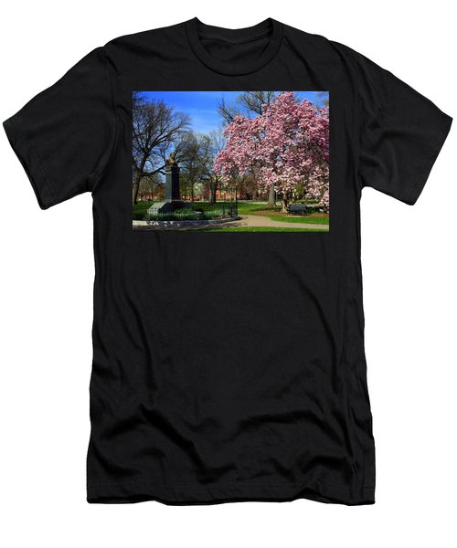 Goodale Park In The Spring Men's T-Shirt (Athletic Fit)