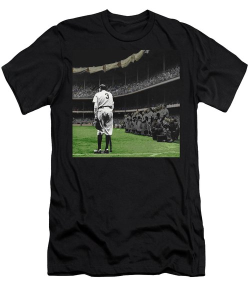 Goodbye Babe Ruth Farewell Men's T-Shirt (Athletic Fit)