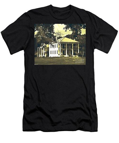 Goodwood Plantation Baton Rouge Circa 1852 Men's T-Shirt (Athletic Fit)