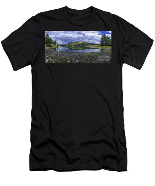 Goose Pasture Tarn Men's T-Shirt (Athletic Fit)
