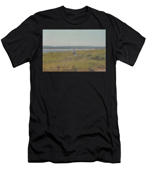 Gooseberry Island Westport Ma Men's T-Shirt (Athletic Fit)