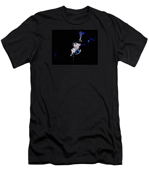 Gord Downie In Concert Men's T-Shirt (Athletic Fit)
