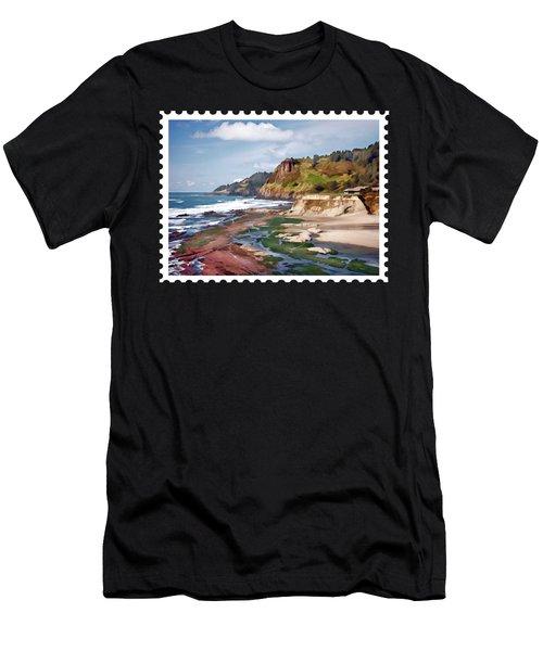 Gorgeous Oregon Coast Men's T-Shirt (Athletic Fit)