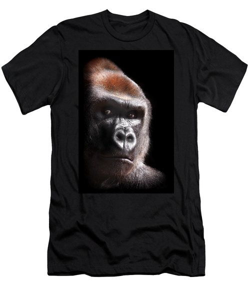 Gorilla ... Kouillou Men's T-Shirt (Athletic Fit)