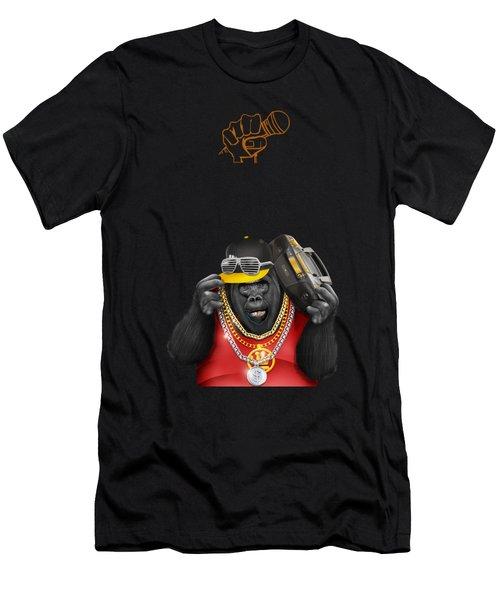 Gorillaz Hip Hop Style Men's T-Shirt (Athletic Fit)